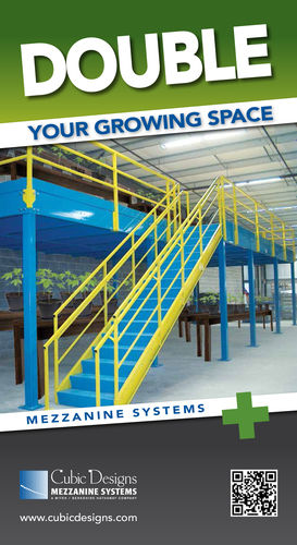 Cubic Designs Mezzanine : Double your grow space says world s rd richest man