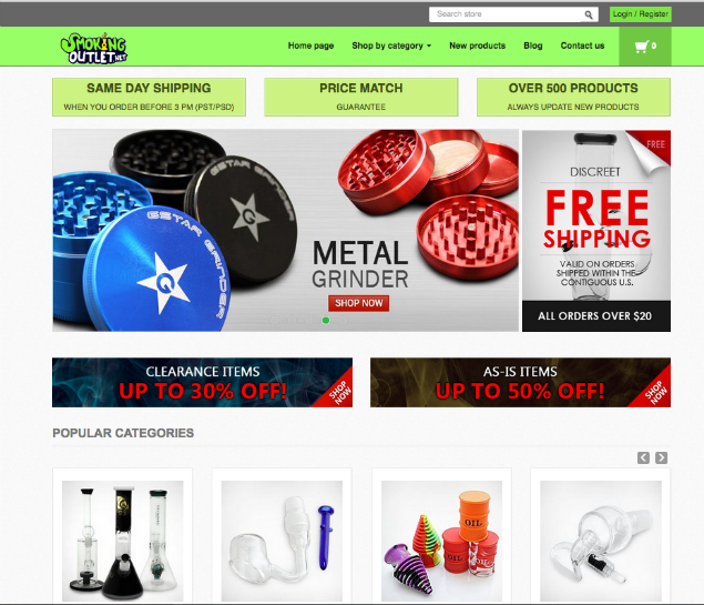 Smoking Outlet Online Headshop