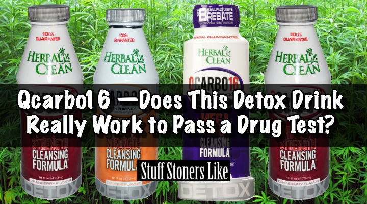 Qcarbo16 —Does This Detox Drink Really Work to Pass a Drug Test?