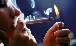 Woman-smoking-marijuana is stuff stoners like