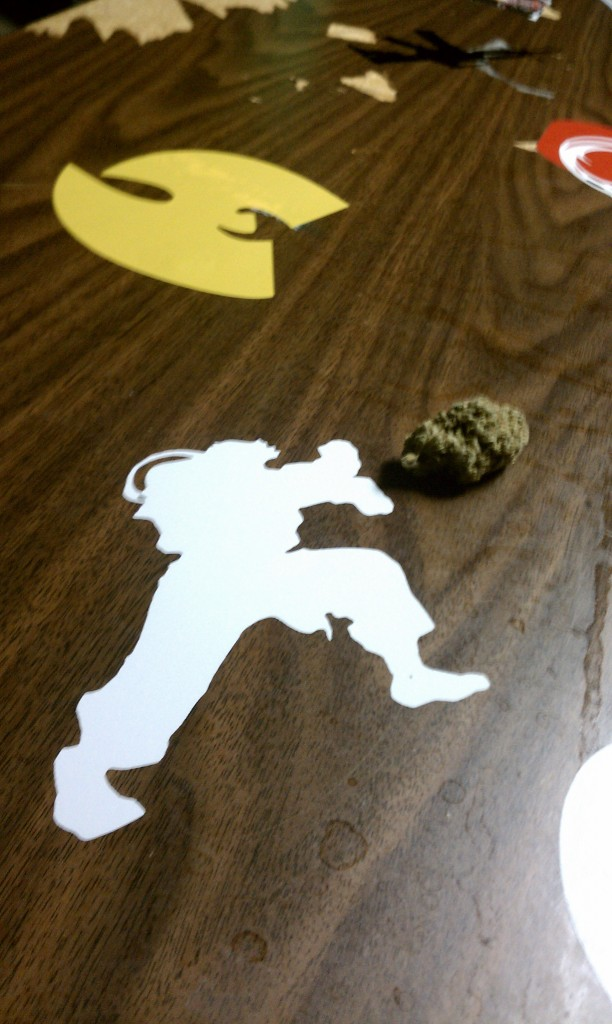 Hadouken! KUSH-Blast to the Face