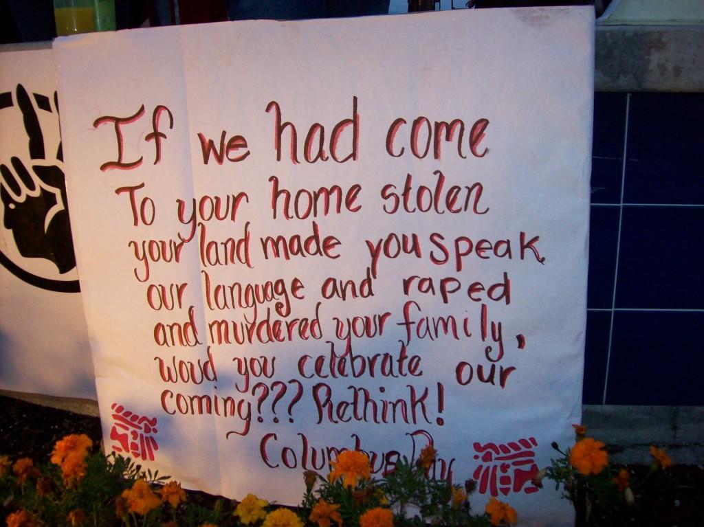 Christopher Columbus was a murderer not a HERO