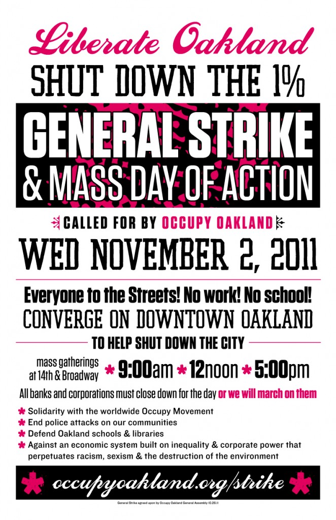 General Strike Occupy Oakland and Mass Day of Action