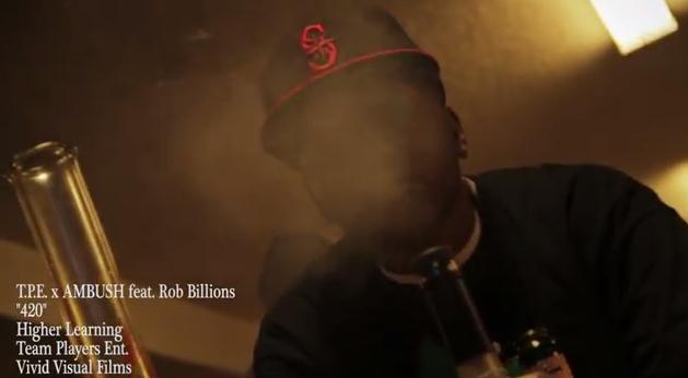 """VIDEO: TPE x AMBUSH feat. Rob Billions """"420″"""