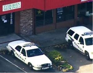 Washington Medical Marijuana Dispensary Raid by Federal DEA Agents in puyallup