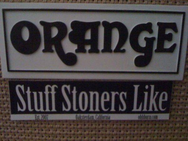 orange amps stuff stoners like