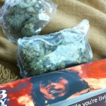 bob marley papers and a couple bags of weed
