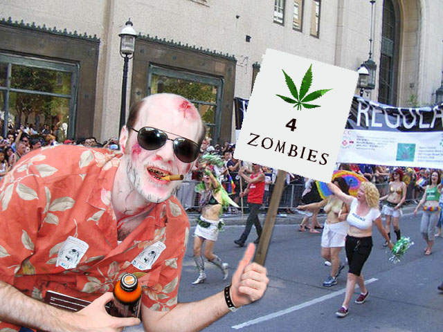35 Questions about Killing Zombies and Smoking Weed