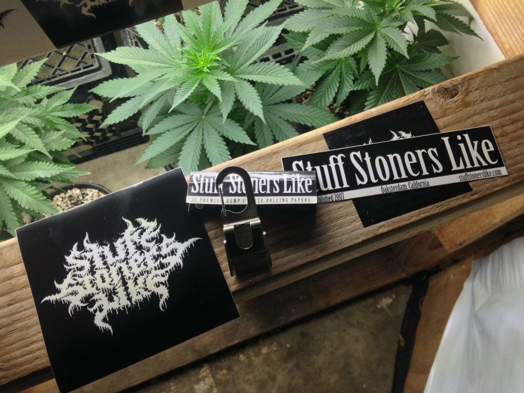 stuff stoners like stickers and papers