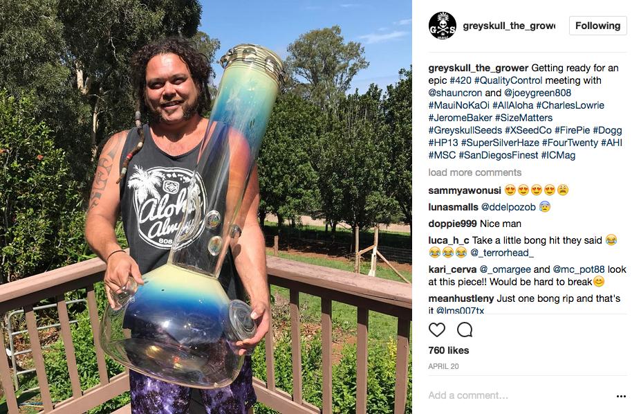 GreySkull The Grower Instagram 3