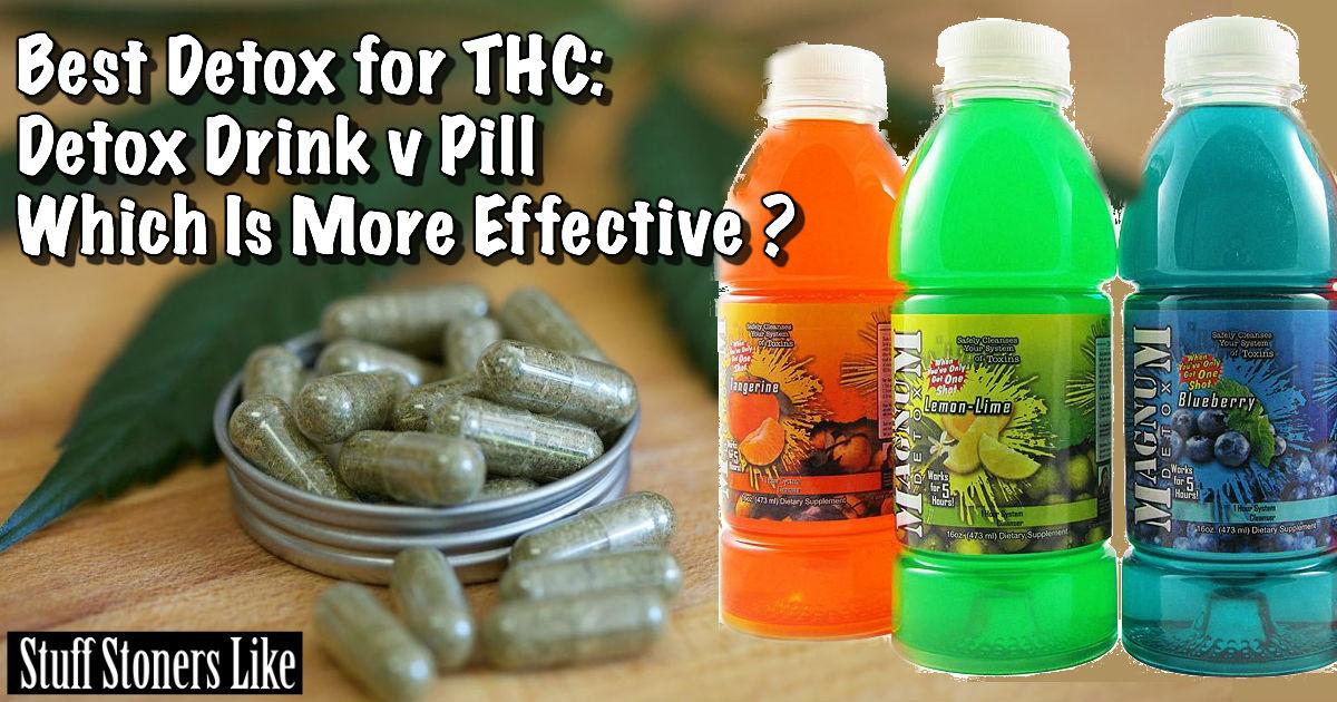 The Best Thc Detox Drinks