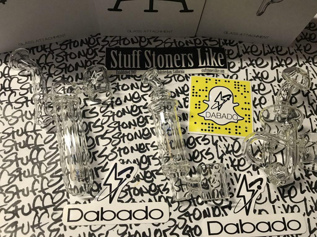 Dabado Bolt Glass attachments