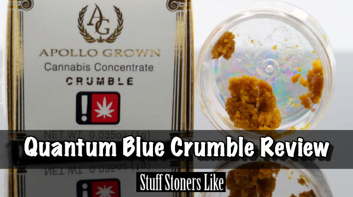 Quantum Blue Crumble Review Hero