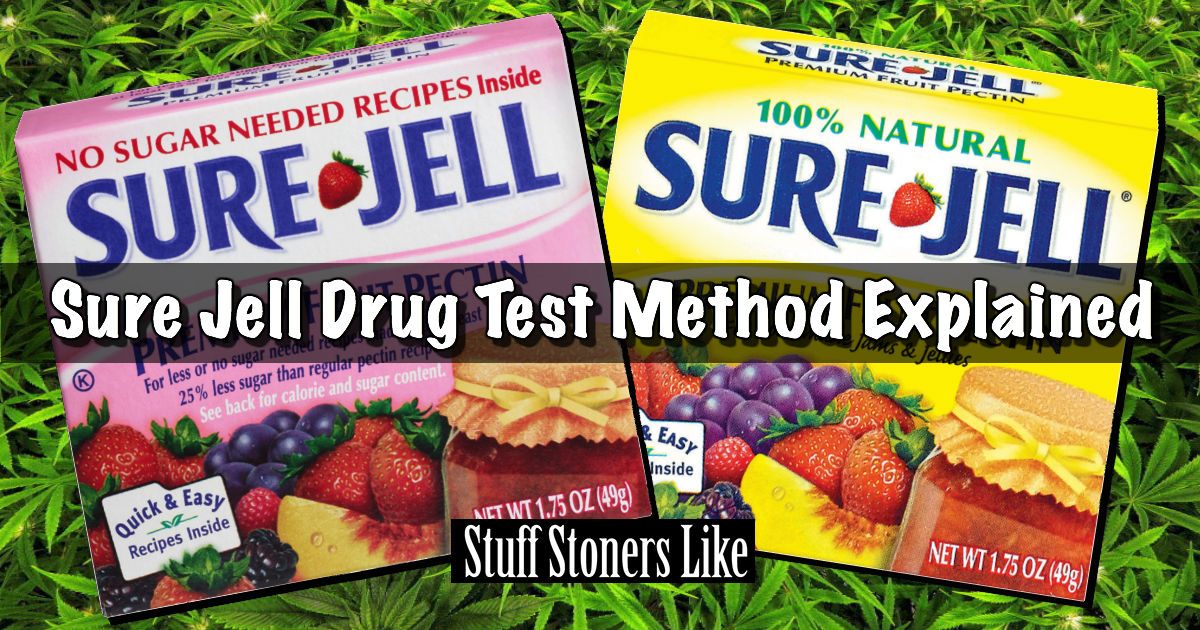 Sure Jell Drug Test Method Explained Yes It Does Really Work