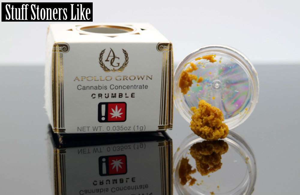 Quantum Blue Crumble Review