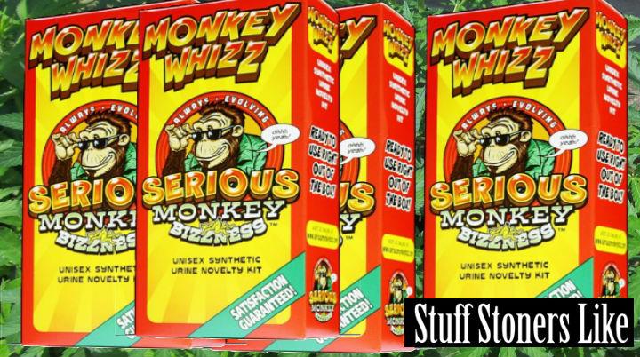 Monkey Whizz synthetic urine