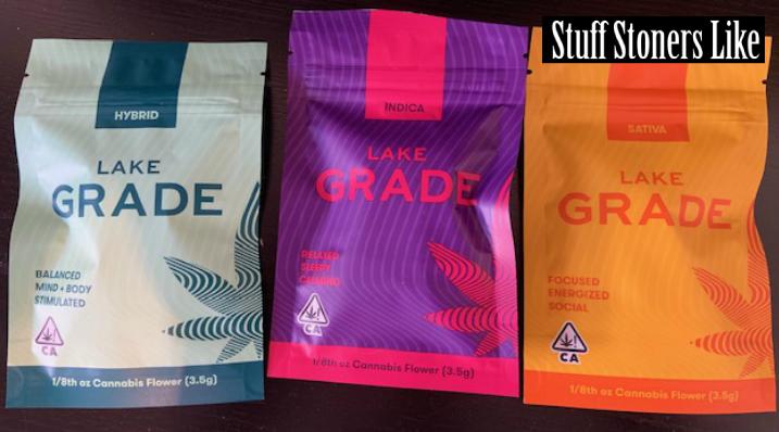 Lakegrade marijuana packaging