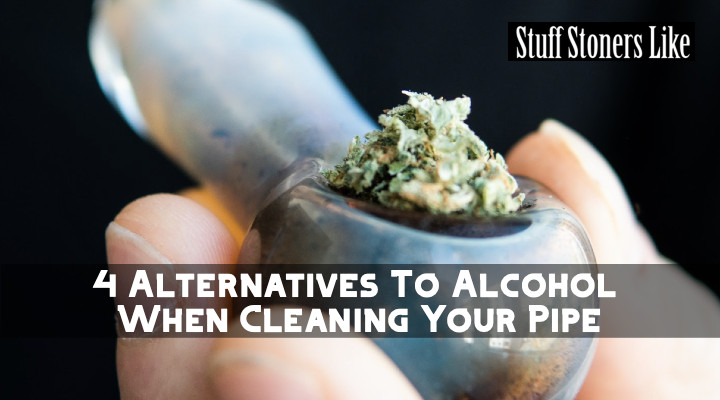 Here are a few alcohol-free ways to keep your piece clean