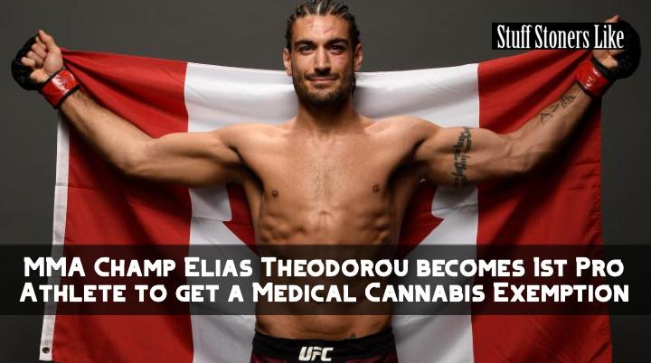 Elias Theodorou secures a cannabis exemption.